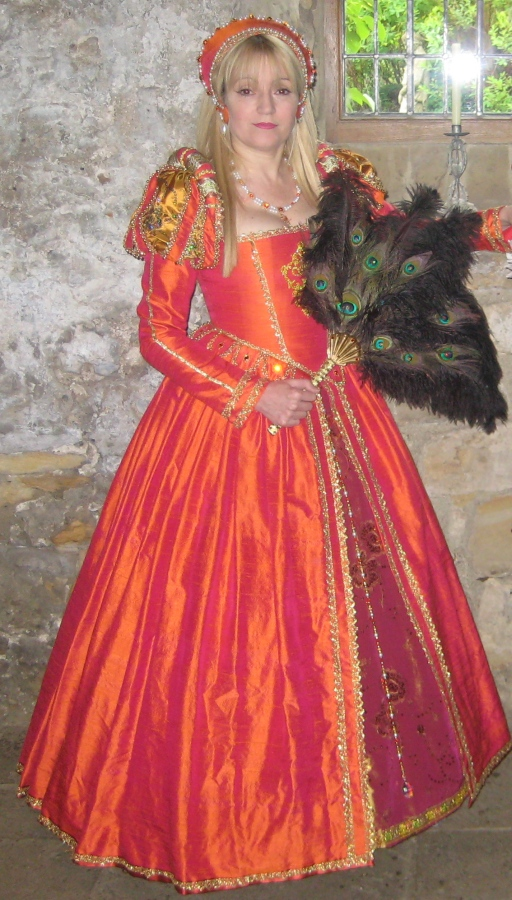 Index of wp content gallery tudor wedding gowns for Tudor style wedding dress